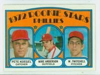 1972 Topps Baseball 14 Phillies Rookies Excellent to Mint