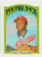 1972 Topps Baseball 15 Walt Williams Chicago White Sox Excellent to Excellent Plus