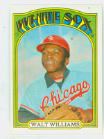 1972 Topps Baseball 15 Walt Williams Chicago White Sox Excellent to Mint