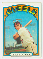 1972 Topps Baseball 19 Billy Cowan California Angels Very Good to Excellent