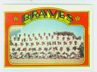 1972 Topps Baseball 21 Braves Team Near-Mint