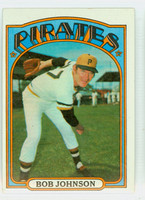 1972 Topps Baseball 27 Bob Johnson Pittsburgh Pirates Excellent