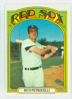 1972 Topps Baseball 30 Rico Petrocelli Boston Red Sox Near-Mint