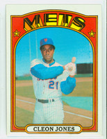 1972 Topps Baseball 31 Cleon Jones New York Mets Near-Mint