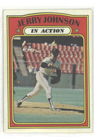1972 Topps Baseball 36 Jerry Johnson San Francisco Giants Very Good to Excellent