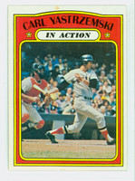 1972 Topps Baseball 38 Carl Yastrzemski Boston Red Sox Very Good to Excellent