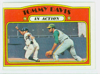 1972 Topps Baseball 42 Tommy Davis IA Oakland Athletics Excellent