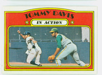 1972 Topps Baseball 42 Tommy Davis IA Oakland Athletics Near-Mint