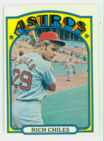 1972 Topps Baseball 56 Rich Chiles Houston Astros Very Good to Excellent