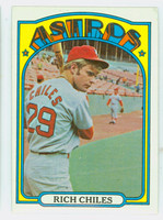 1972 Topps Baseball 56 Rich Chiles Houston Astros Near-Mint