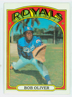 1972 Topps Baseball 57 Bob Oliver Kansas City Royals Near-Mint
