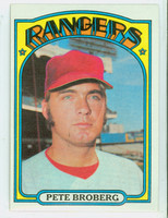 1972 Topps Baseball 64 Pete Broberg Texas Rangers Near-Mint