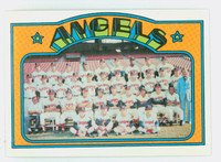 1972 Topps Baseball 71 Angels Team Near-Mint