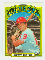 1972 Topps Baseball 73 Steve Huntz Chicago White Sox Near-Mint