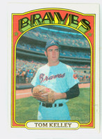 1972 Topps Baseball 97 Tom Kelley Atlanta Braves Near-Mint
