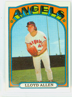 1972 Topps Baseball 102 Lloyd Allen California Angels Near-Mint