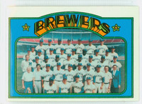 1972 Topps Baseball 106 Brewers Team Near-Mint