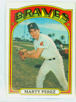 1972 Topps Baseball 119 Marty Perez Atlanta Braves Near-Mint