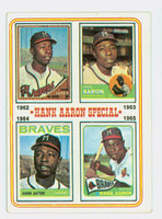 1974 Topps Baseball 4 Hank Aaron 1962-1965 Very Good
