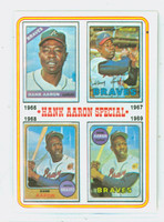 1974 Topps Baseball 5 Hank Aaron 1966-1969 Excellent to Excellent Plus