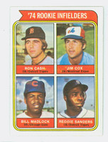 1974 Topps Baseball 600 Rookie Infielders Excellent to Mint