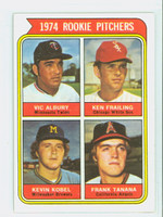 1974 Topps Baseball 605 Rookie Pitchers Excellent to Mint