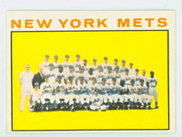 1964 Topps Baseball 27 Mets Team Excellent to Excellent Plus