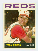 1964 Topps Baseball 80 Vada Pinson Cincinnati Reds Excellent to Mint