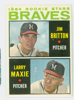 1964 Topps Baseball 94 Braves Rookies Excellent