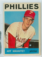 1964 Topps Baseball 104 Art Mahaffey Philadelphia Phillies Near-Mint