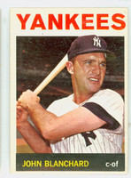 1964 Topps Baseball 118 John Blanchard New York Yankees Excellent