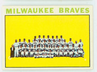 1964 Topps Baseball 132 Braves Team Very Good