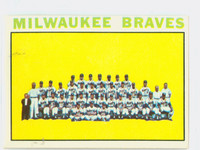 1964 Topps Baseball 132 Braves Team Excellent