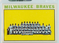 1964 Topps Baseball 132 Braves Team Excellent to Mint
