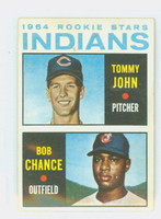 1964 Topps Baseball 146 Indians Rookies Very Good