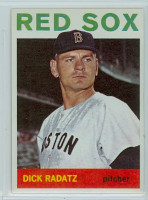 1964 Topps Baseball 170 Dick Radatz Boston Red Sox Near-Mint to Mint