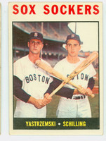 1964 Topps Baseball 182 Sox Sockers Boston Red Sox Very Good to Excellent