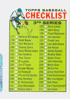 1964 Topps Baseball 188 Checklist Three Near-Mint
