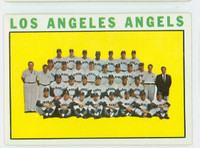 1964 Topps Baseball 213 Angels Team Very Good to Excellent