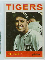 1964 Topps Baseball 236 Bill Faul Detroit Tigers Near-Mint