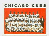 1964 Topps Baseball 237 Cubs Team Very Good to Excellent