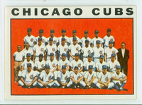 1964 Topps Baseball 237 Cubs Team Excellent