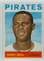 1964 Topps Baseball 246 Manny Mota Pittsburgh Pirates Near-Mint
