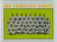 1964 Topps Baseball 257 Giants Team Near-Mint