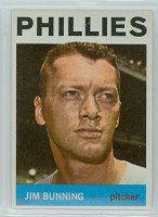 1964 Topps Baseball 265 Jim Bunning Philadelphia Phillies Excellent to Mint