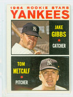 1964 Topps Baseball 281 Yankees Rookies Excellent to Excellent Plus