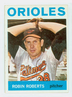 1964 Topps Baseball 285 Robin Roberts Baltimore Orioles Excellent