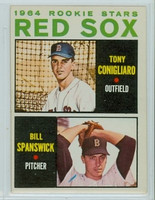 1964 Topps Baseball 287 Red Sox Rookies Very Good to Excellent