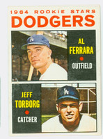 1964 Topps Baseball 337 Dodgers Rookies Very Good to Excellent