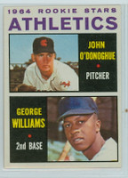 1964 Topps Baseball 388 Athletics Rookies Excellent to Mint